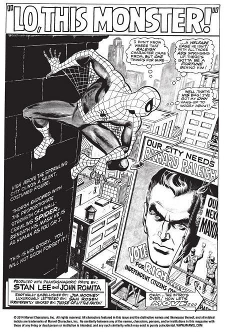 Spectacular Spider-Man     pg 1