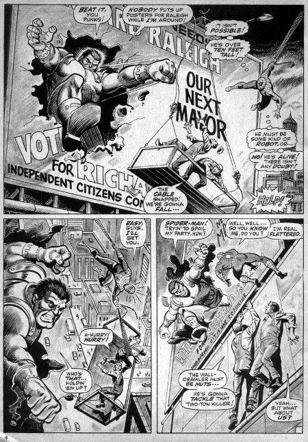 Spectacular Spider-Man pg 3
