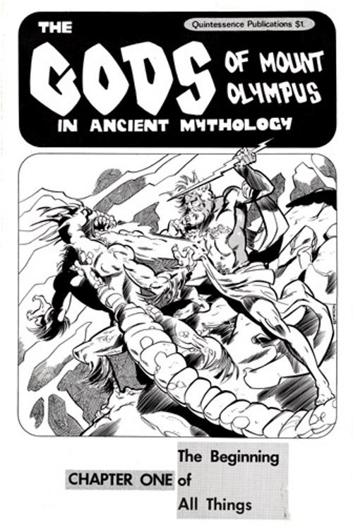 The Gods of Mount Olympus # 1
