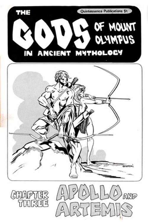 The Gods of Mount Olympus # 3