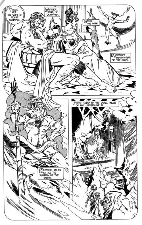The Gods of Mount Olympus z# 1   pg 2