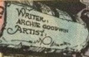 Walt Simonson signature