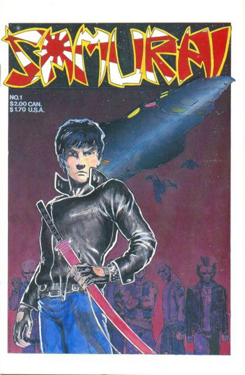 Samurai  # 1   Sept. 1985