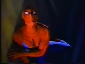 And before the special, we have a PSA of Spider-Man urging you to register to vote. Who was this tape geared to?