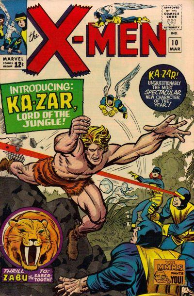 X-Men # 10   March 1965