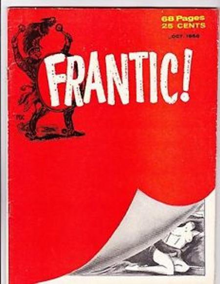 Frantic # 1 October 1958