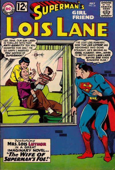 Superman's Girl Friend Lois Lane # 34