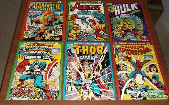 Marvel Mead Folders front images