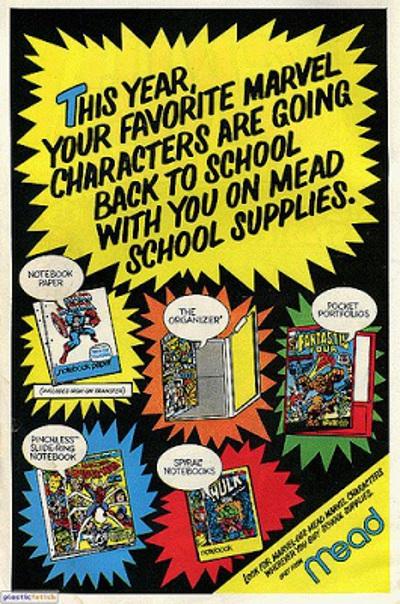 Marvel Mead ad