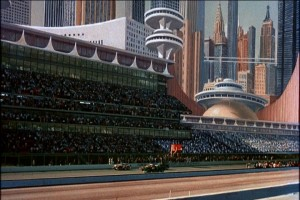 Matte Paintings may be low tech, but they've held up better than a lot of early CGI.