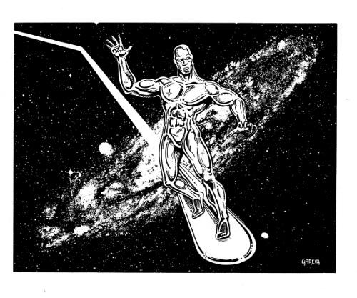 Silver Surfer by Dave Garcia