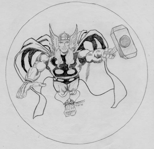Thor by Greg Turner