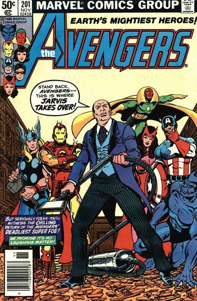 Avengers # 201 Nov 1980