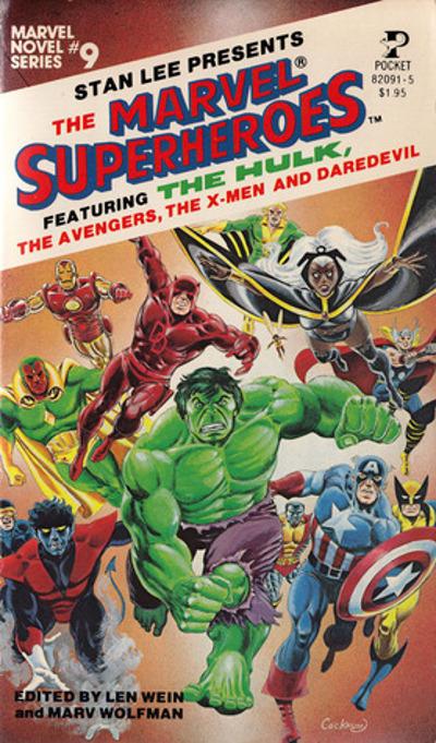Marvel Novel Series # 9 from 1979