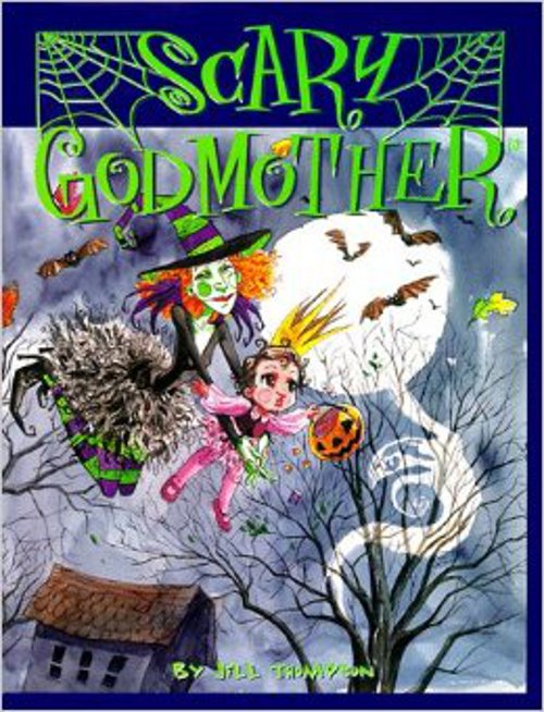 Scary Godmother 1st Picture Book 1997