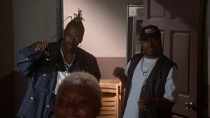 Seriously, this is the entirety of Coolio's part in this movie.