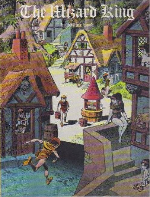 The Wizard King 1978 Hardcover by Wally Wood