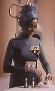 This is Momar, the mom Martian. She'd later become ruler of Libya.