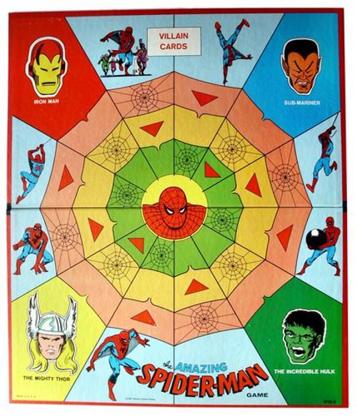 1967 Spider-Man game board