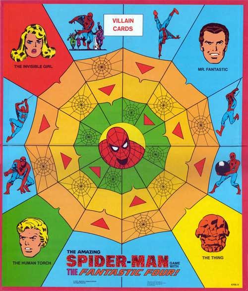 1977 Spidey-ff board