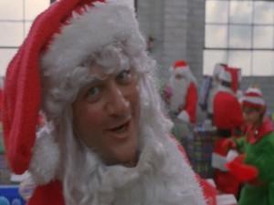 Crooked Mall Santas lead by Jim Belushi.