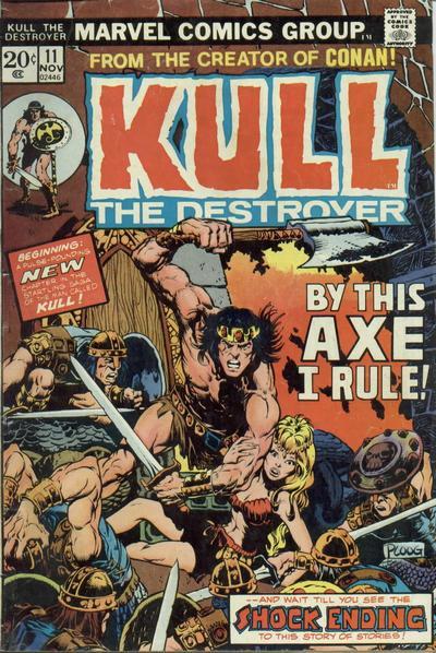 Kull the Destroyer # 11 Nov 1973