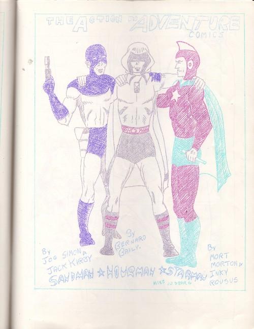 Sandman, Hourman & Starman by Mike Vosburg