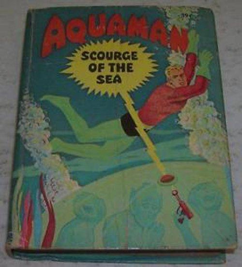 Aquaman 1968 Whitman Big Little Book
