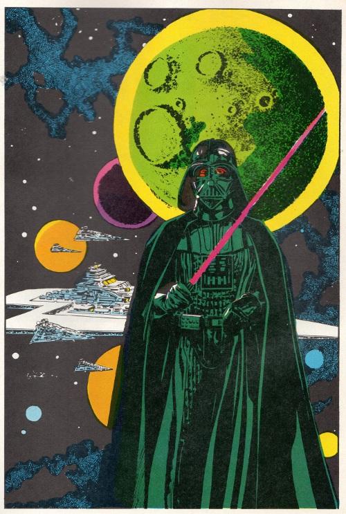Darth Vader Illustration by Williamson & Garzon