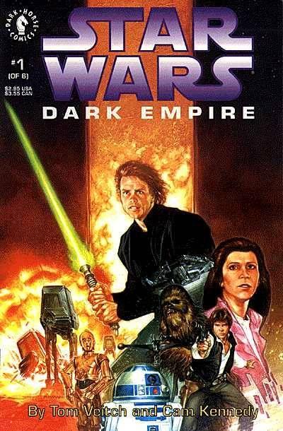 Star Wars Dark Empire # 1 12-91 from Dark Horse