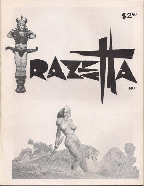 Frazetta Fanzine # 1 1969 2nd edition?