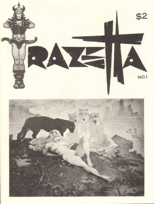 Frazetta Fanzine # 1 1969