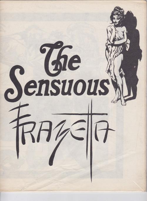 Frazetta Sensuous 1970s