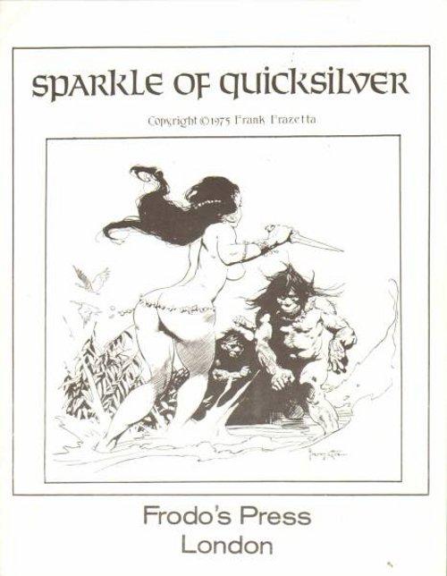 Frazetta Sparkle of Quicksilver 1975