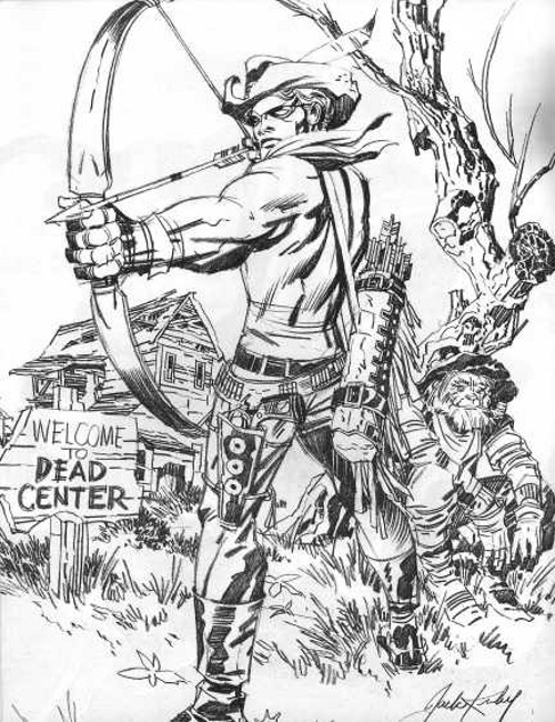 Jack Kirby Portfolio Page 20