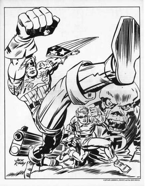 Jack Kirby Portfolio Page 13