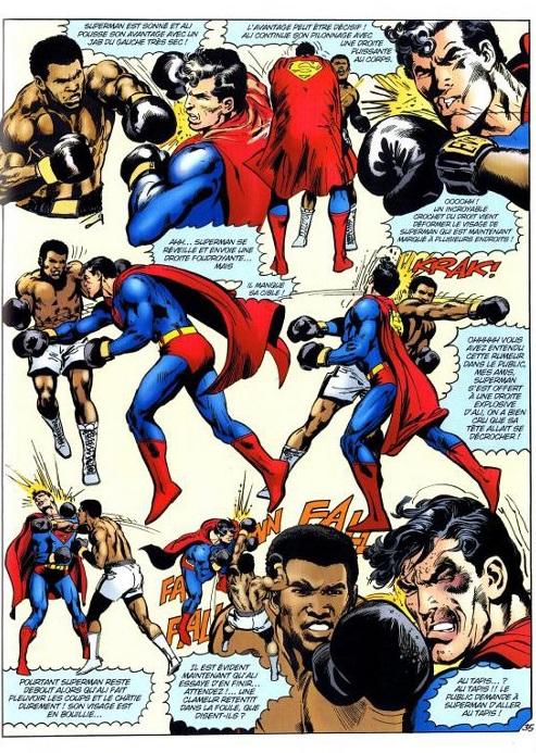 Superman vs Muhammad Ali pg 35