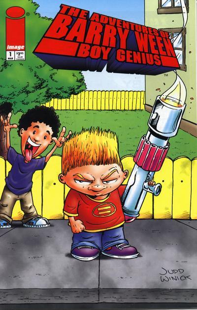 The Adventures of Barry Ween Boy Genius # 1