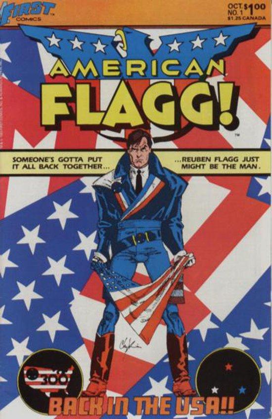American Flagg! # 1 October 1983