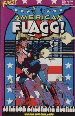 American Flagg! # 2 November 1983