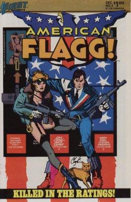 American Flagg! # 3 December 1983
