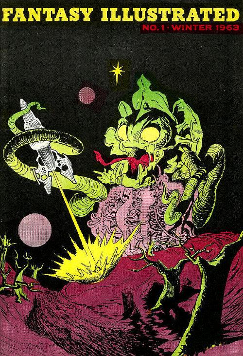 Fantasy Illustrated # 1 Winter 1963-1964