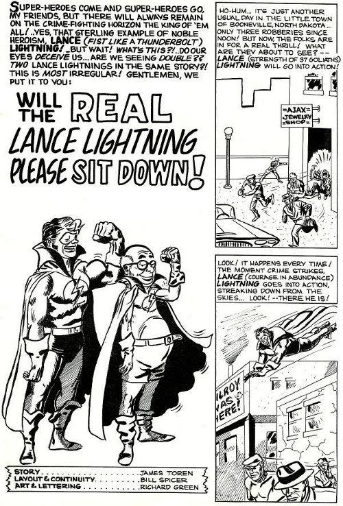 Lance Lightning strip pg 11