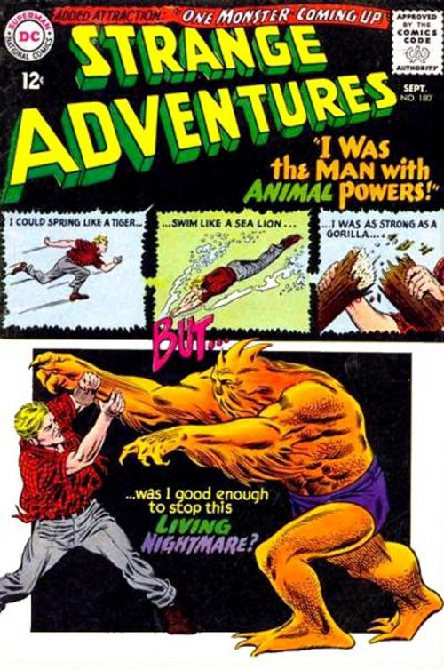 Strange Adventures # 180 Sept. 1965