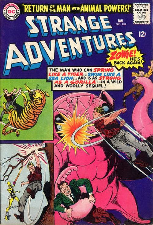 Strange Adventures # 184 Jan. 1966