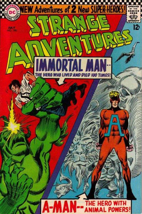 Strange Adventures # 190 July 1966