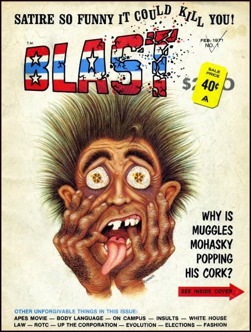 Blast Magazine # 1 February 1971