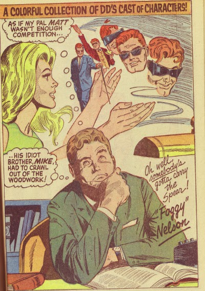 Foggy Nelson pin-up also by Gene Colan