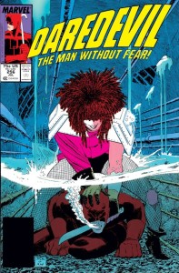Daredevil Typhoid Mary Cover