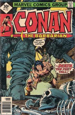 Conan # 77 August 1977